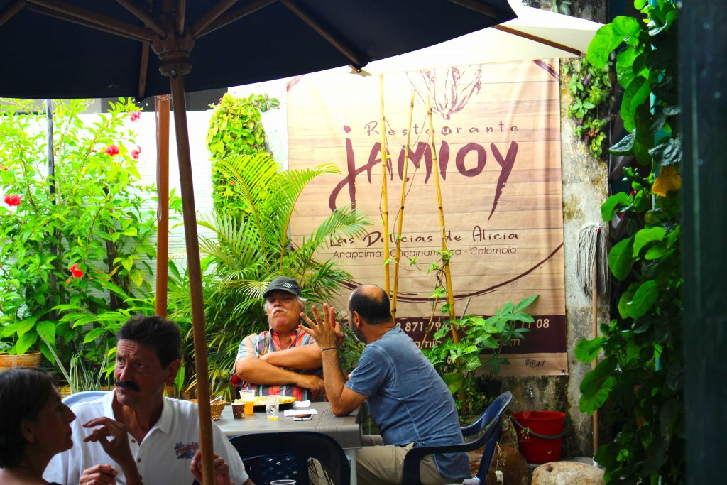 restaurante típico Jamioy