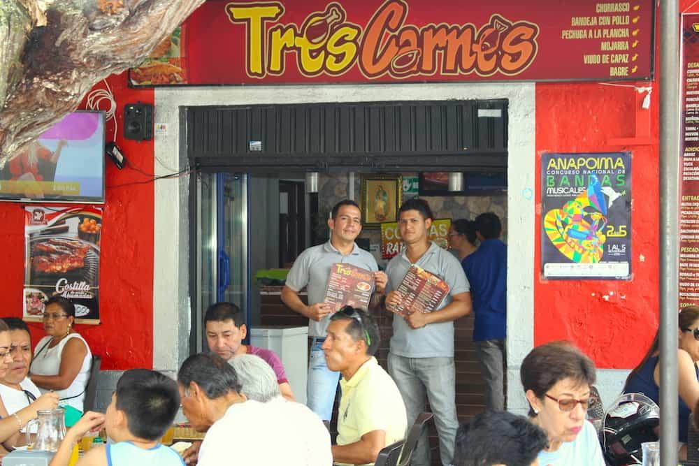 restaurante tres carnes
