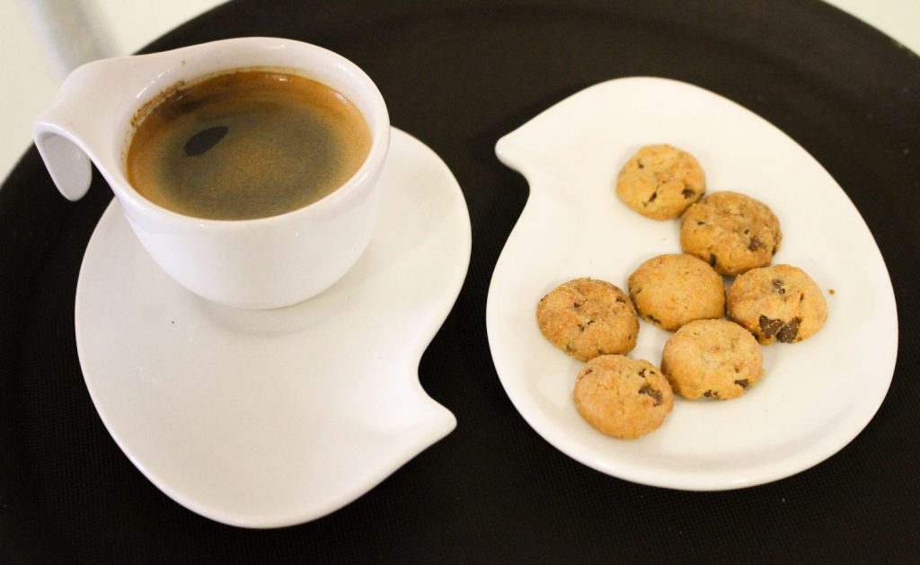 Cafe espresso galletas