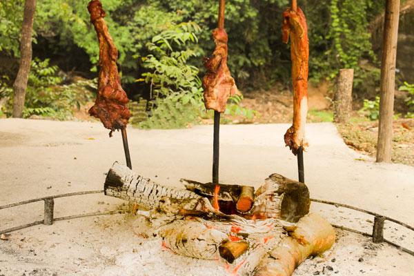 carne asada bara